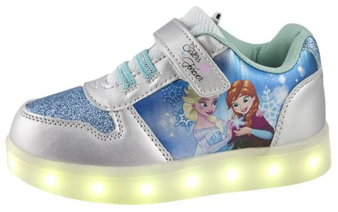 disney store frozen elsa light up shoes disney frozen led light up trainers usb girls anne elsa