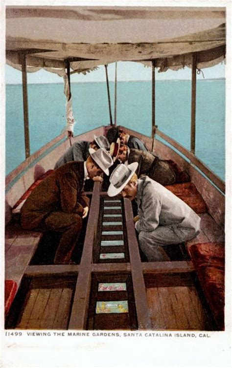 catalina boat ride cost a glass bottom boat ride circa 1910 off the coast of
