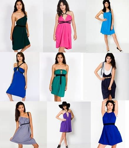 american apparel infinity dress 71 best wardrobe multiway clothing images on