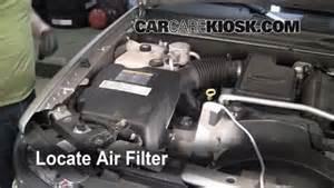 2002 2009 chevrolet trailblazer engine air filter check