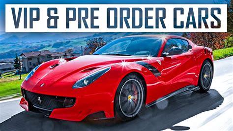 forza horizon  vip cars pre order detailscars
