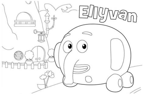 82 coloring pages of jungle junction jungle
