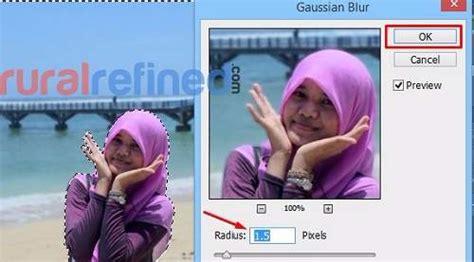 cara edit foto yang blur dengan photoshop cara membuat efek blur autofocus pada foto dengan photoshop