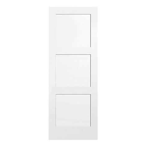 3 Panel Shaker Interior Door Metrie Door Quot Shaker Quot 3 Panel Interior Door 32 In R 233 No D 233 P 244 T