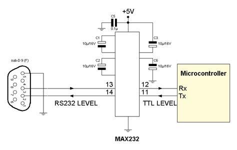 transistor las listrik konfigurasi rangkaian ic max232 untuk mikrokontroler serial converter driver pikir dan rasa