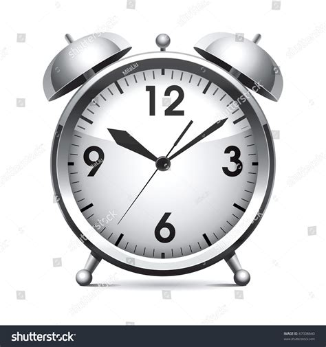 Alarm Vector metal alarm clockvector stock vector 67008640