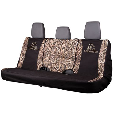 full bench seat covers ducks unlimited full size bench seat cover by ducks