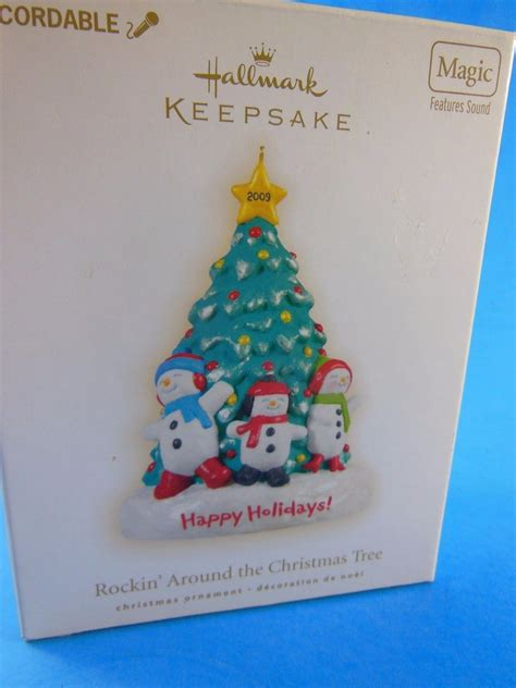 recordable hallmark christmas ornament rockin around the