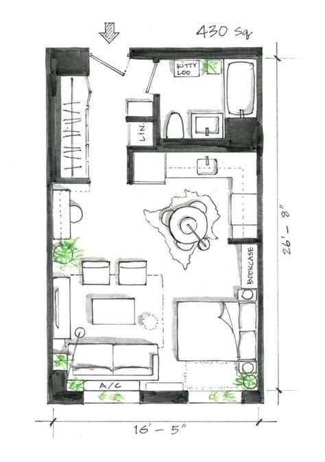 garage studio apartment floor plans best 25 studio apartment floor plans ideas on