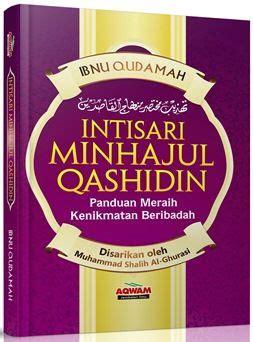 Intisari Ihya Ulumuddin intisari minhajul qashidin ibnu qudamah penerbit aqwam