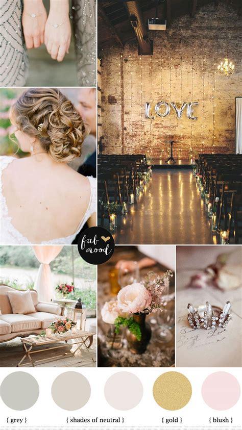 wedding color palettes autumn vintage wedding neutral wedding color palette