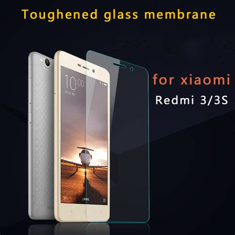 Tempered Glass Xiaomi Redmi 3 3s 3x 3 Pro Screen Guard Anti Gores Kaca for xiaomi redmi 3 safety glass tempered for xiomi redmi 3 3s 3x screen protector 5 0 inch