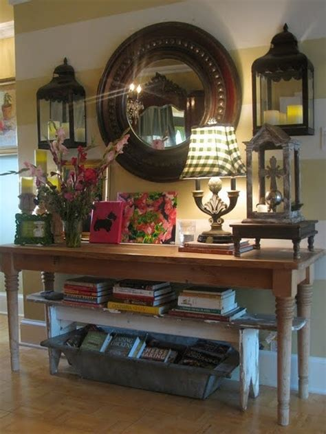foyer table decor ideas entry way decor the domestiquete