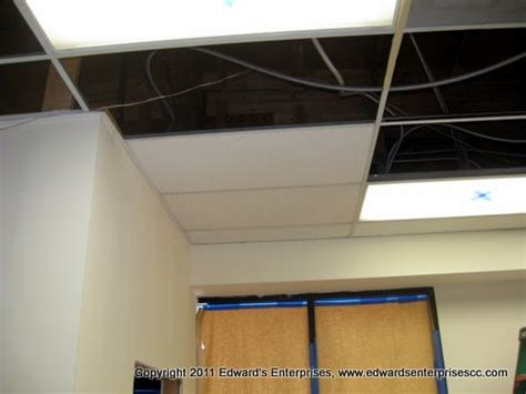 drop ceiling tile grid repaired in ventura