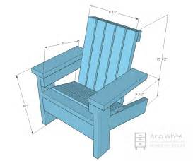 Adirondack Chair Dimensions Ana White Fiona S Doll Adirondack Chair Diy Projects