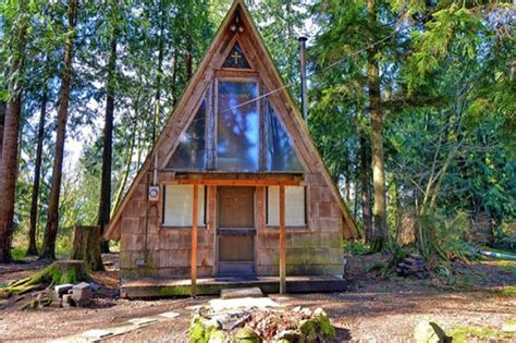 500 sq ft a frame cabin for sale with land 75k tiny house pins