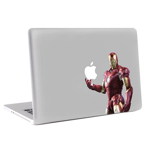 Macbook Skin Aufkleber by Iron Man Macbook Skin Aufkleber