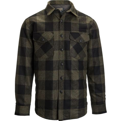 Wool Pendleton pendleton quilted cpo in wool shirt jacket s up to