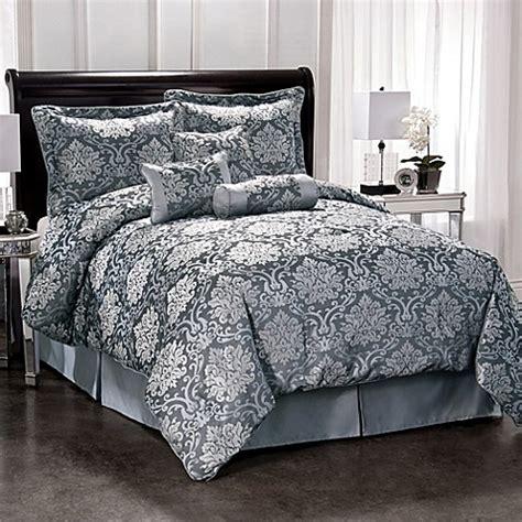 silver comforter set king pearl street silver comforter set bed bath beyond