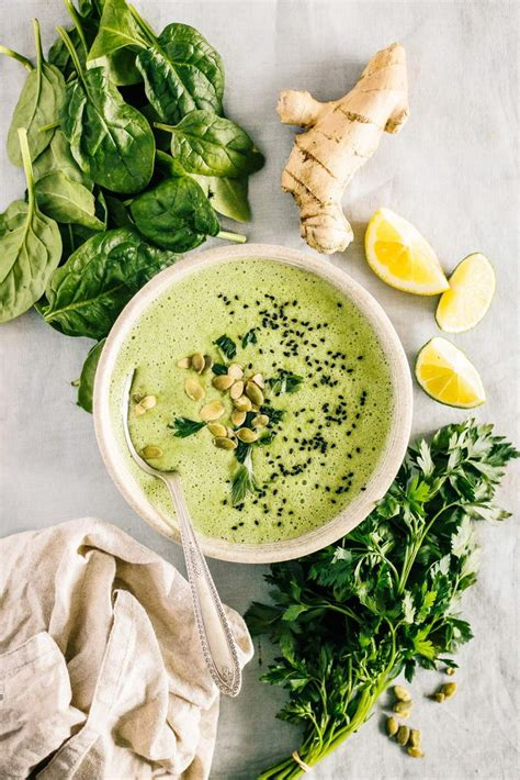 Spinach For Detox by Detox Spinach Soup Detox Diy
