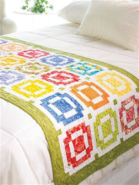 Patchwork Bed Runner Patterns - quilting seasonal patterns patterns