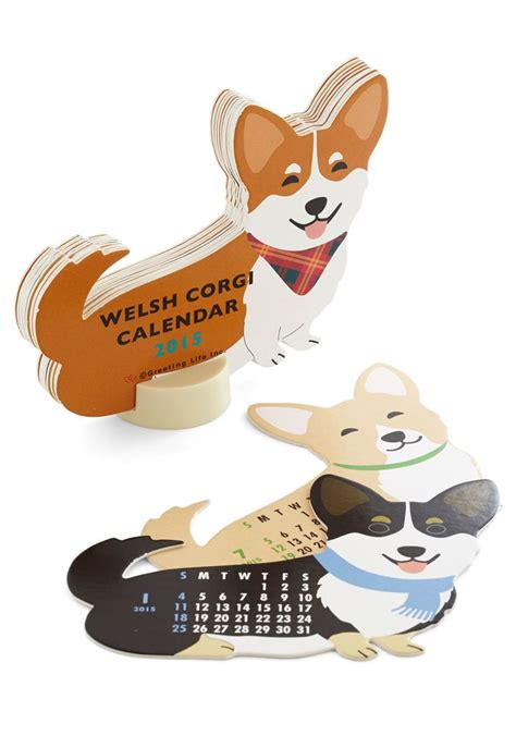 corgi desk calendar 17 best images about corgis and dogs on