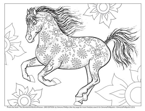 horse coloring pages for adults horse coloring pages for adults coloring pages