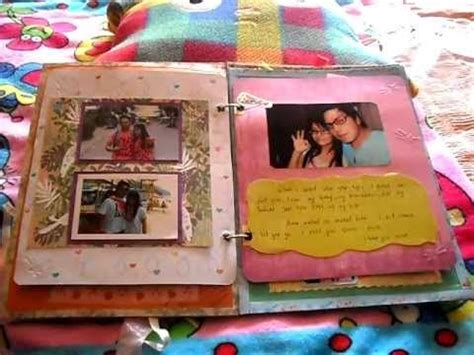 Handmade Scrapbook Ideas For Boyfriend - best 20 scrap book for boyfriend ideas on diy