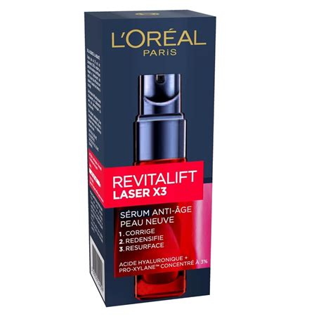 Harga L Oreal Revitalift Laser X3 Serum l oreal revitalift laser x3 anti aging serum 30ml ebay