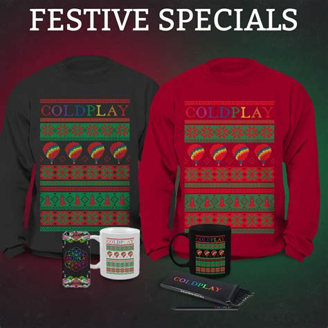 coldplay store new festive items in the coldplay store coldplay