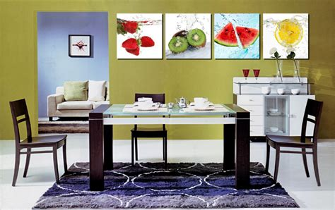 Large Kitchen Canvas by Panel Canvas Fruits Kitchen Canvas Painting Large Wall