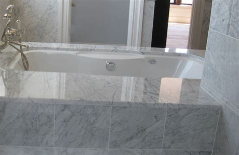 bathrooms with carrera marble carrera marble bathroom