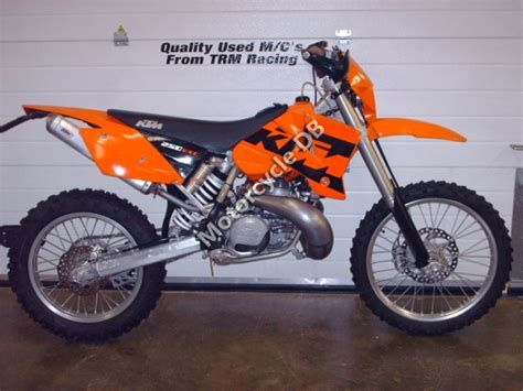 2002 Ktm 250 Exc Review Ktm 250 Exc Pictures Specifications And Reviews