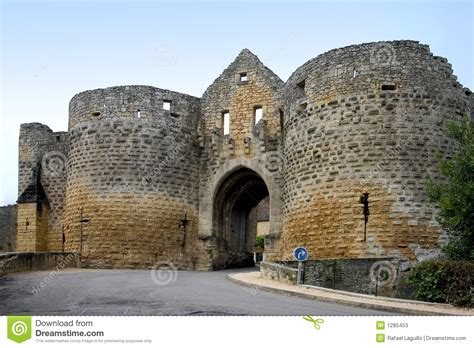 French Chateau House Plans porte des tours domme france stock photos image 1285453
