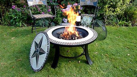Firepits Co Uk Stargazer Mosaic Pit Table Www Gardenitems Co Uk