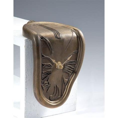 Melting Shelf Clock by New Melting Shelf Sitter Clock In Antique Bronze