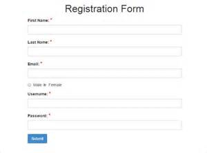 Free Registration Template by 15 Best Php Registration Form Templates Free Premium
