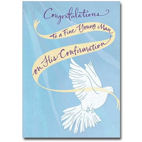 Confirmation Congratulations Letter congratulations to a confirmation card