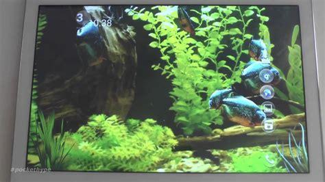 aquarium 3d live wallpaper youtube piranha aquarium 3d live wallpaper youtube