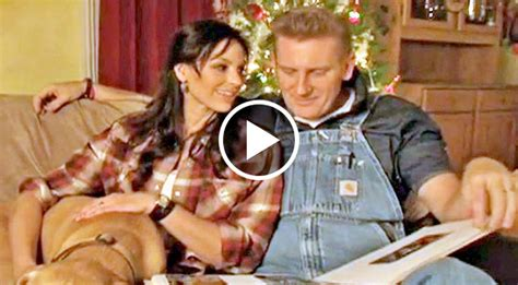 immotional christmast song joey rory get emotional in original song it s time country rebel