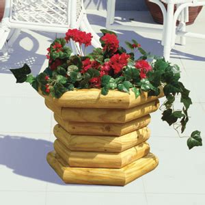 Landscape Timber Basket Planter Plans Free Landscape Timber Woodcraft Pattern Projects On