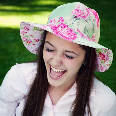 pattern sewing hat sun hat tutorial and sewing pattern for women womens hat