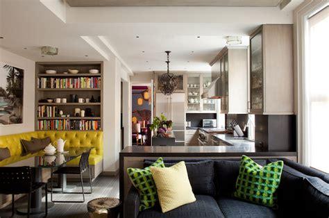 Modern Kitchen Banquette by Amanda Nisbet Design Kitchens Mid Century Modern