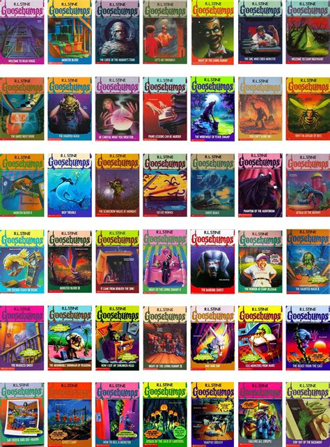 list of goosebumps books with pictures s book club 03 cimmerian tales