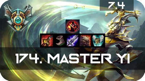 How To Build A Master Master Master Yi Jungle Vs Shaco Season 7 S7 Patch 7 4