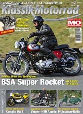 Motorrad Classic Ausgaben by Klassik Motorrad 2013 02 Motorrad Magazin Mo