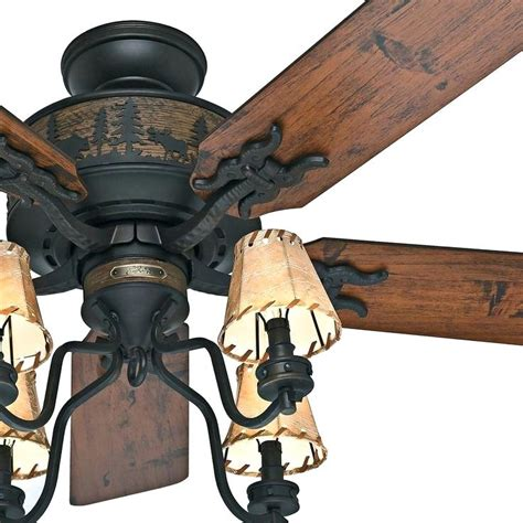 log cabin ceiling fans ceiling fans with lighting log cabin style plans 16