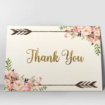 japanese thank you card template floral thank you card printable thank you card boho chic