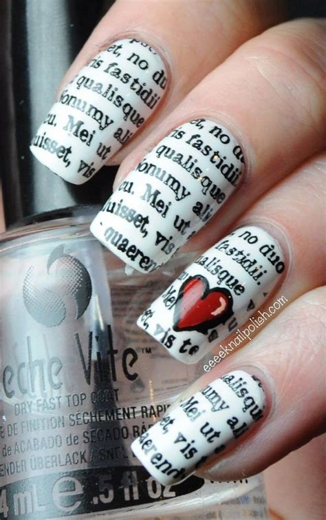 How To Make Nail Designs With Paper - best easy nail designs trends