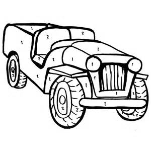 free printable army jeep coloring pages boys